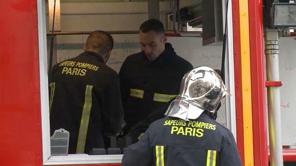 Les pompiers français face aux violences