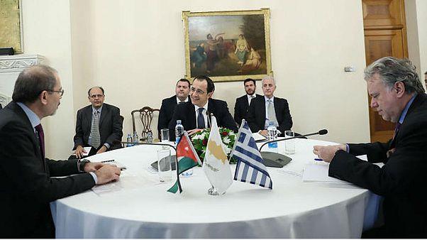 Τριμερής Κύπρου - Ελλάδας - Ιορδανίας