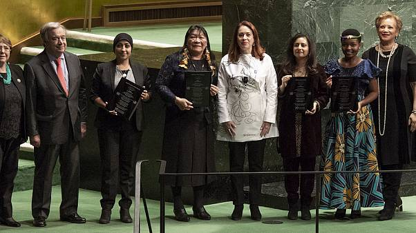 Tres activistas reciben el premio Derechos Humanos de la ONU