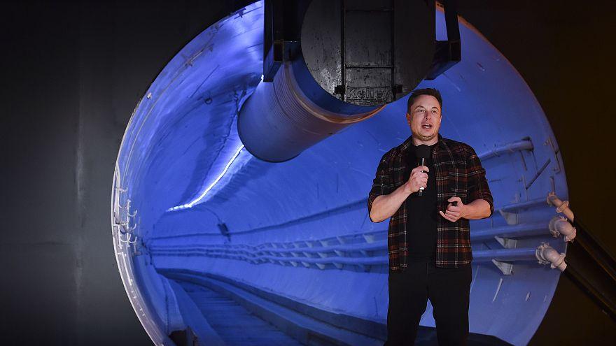 تونل زیرزمینی لس آنجلس برای حمل و نقل فوق سریع خودروها رونمایی شد