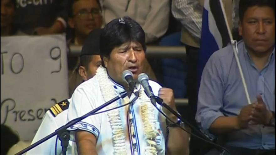 Evo Morales quiere arrasar en las presidenciales 2019