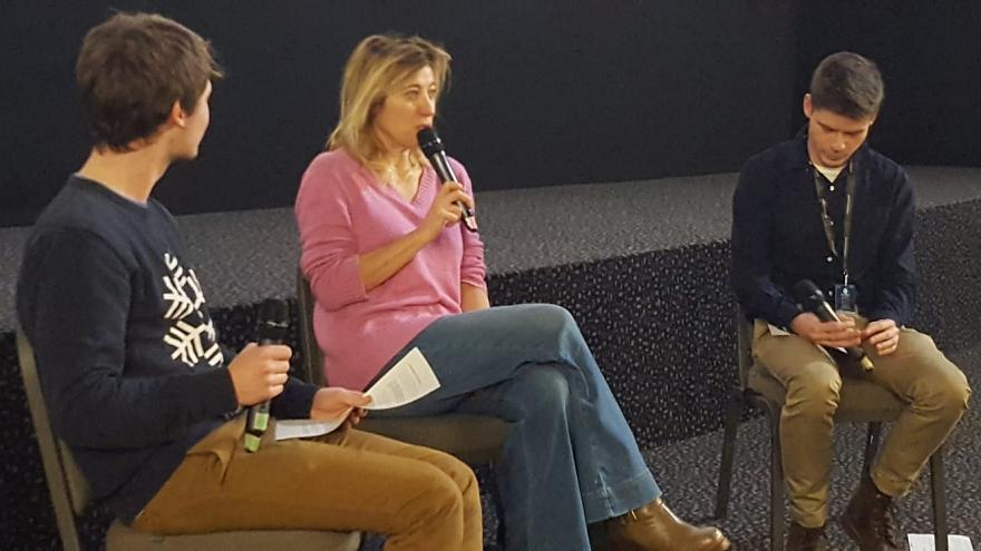 Valeria Bruni-Tedeschi talks frankly about women in film
