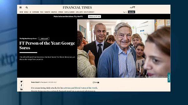 FT: Soros György az év embere