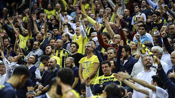 Fenerbahçe THY Avrupa Ligi'nde 3 takımın toplamından daha fazla seyirci çekti