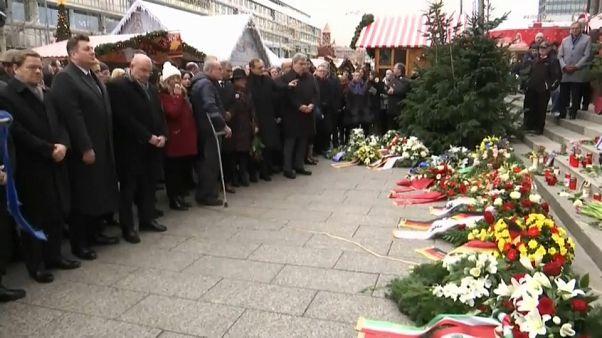 Berlino ricorda le vittime dell'attacco del 2016