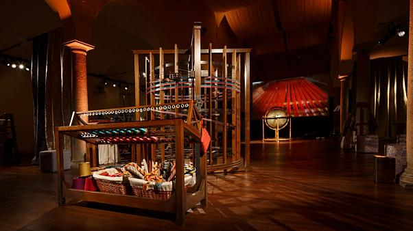 The old silk factory using Da Vinci's 500-year-old machine design