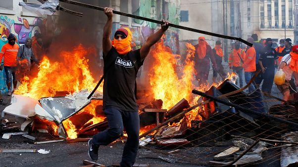 Los estibadores chilenos rechazan el acuerdo y siguen en huelga