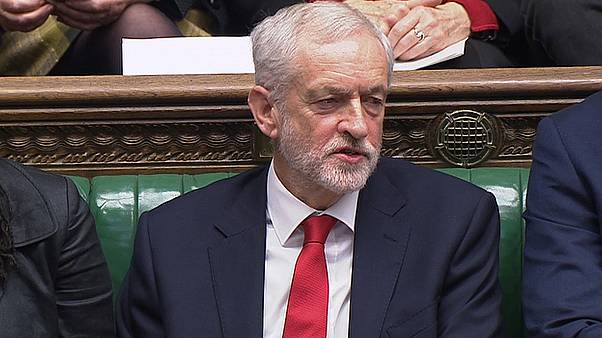 Watch: Jeremy Corbyn appears to mouth 'stupid woman' at UK PM Theresa May