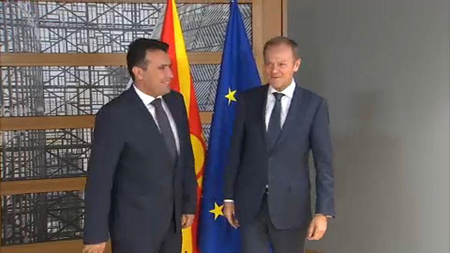 Οι συναντήσεις του Ζόραν Ζάεφ στις Βρυξέλλες