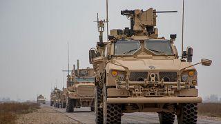 Американский конвой в сирийской провинции Дейр-эз-Зор