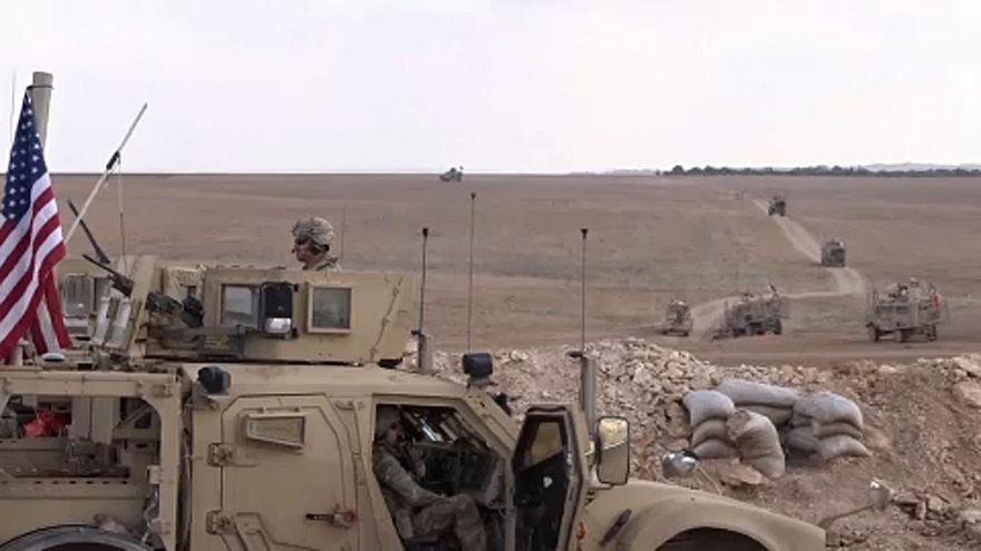 Megkezdte a szíriai csapatkivonást az Egyesült Államok