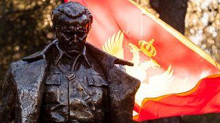 Podgorica's statue of Josip Broz Tito unveiled on Dec 19, 2018.