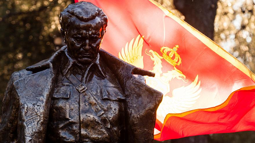 Podgorica's statue of Josip Broz Tito unveiled on Dec 19, 2018.