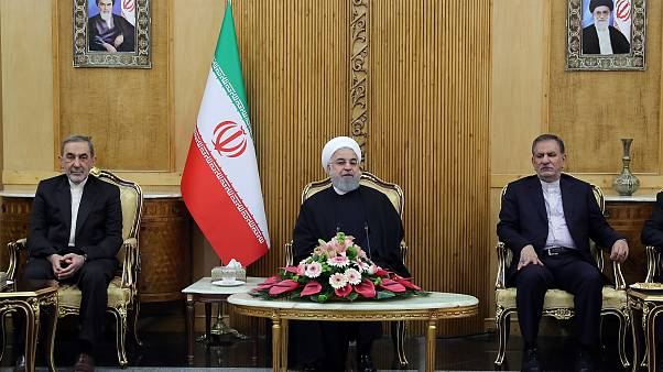 İran Cumhurbaşkanı Ruhani Türkiye'de