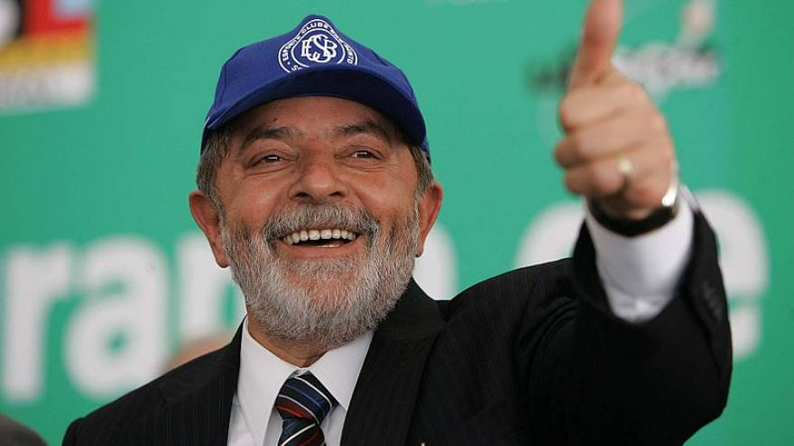 الرئيس البرازيلي الأسبق لولا دا سيلفا