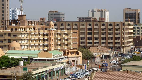 وسط العاصمة السودانية الخرطوم
