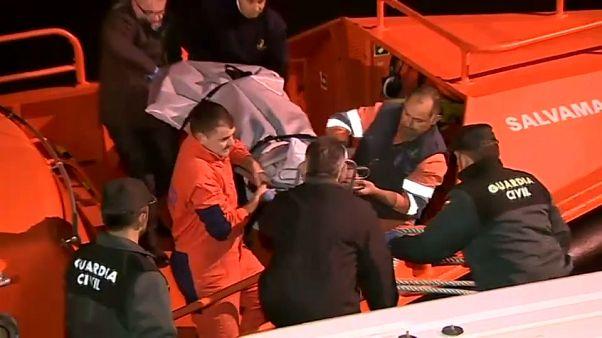 Naufragio con tres muertos y un desaparecido en Fisterra