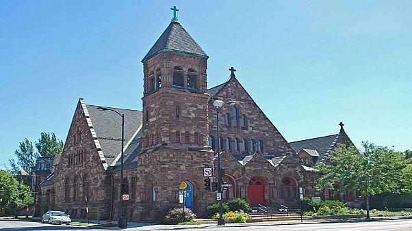 صورة لإحدى كنائس شيكاغو