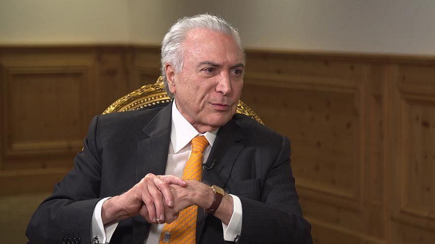 Brezilya: Savcılık devlet başkanı Temer'i rüşvet almakla suçladı