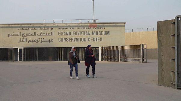 El megaproyecto del Gran Museo Egipcio toma forma