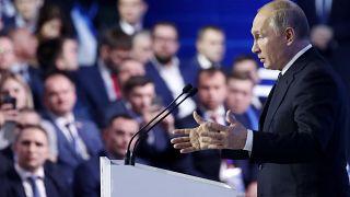 پوتین: روسیه به پنج اقتصاد بزرگ دنیا ملحق خواهد شد