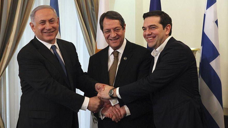 İsrail, Yunanistan ve Güney Kıbrıs arasında üçlü zirve: Enerji ve güvenlik masada