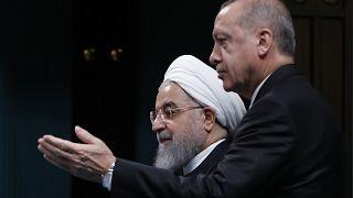 اردوغان: حق همسایگی ایجاب میکند اکنون در کنار ایران باشیم