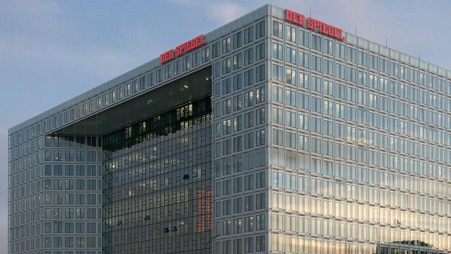 Hamburg'da bulunan Der Spiegel merkez binası