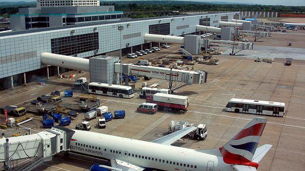 Londres : Le trafic aérien bloqué à Gatwick