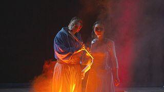 Mozart'ın Sihirli Flüt operası Viyana'da sahneleniyor