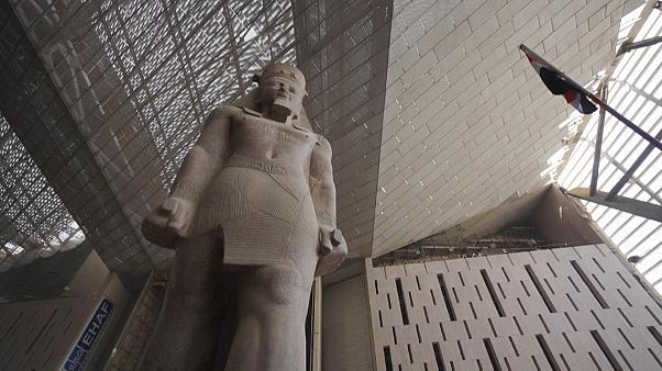 A 3,200-year-old Statue of Ramesses II at the Grand Egyptian Museum