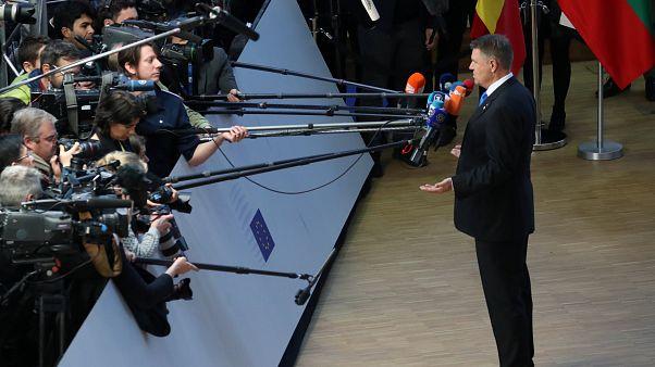 Amenaza tormenta sobre la presidencia rumana de la Unión Europea