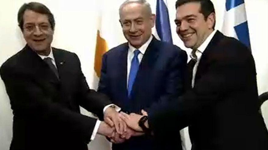 Συμφωνία Ελλάδας-Κύπρου-Ισραήλ για τον αγωγό East Med