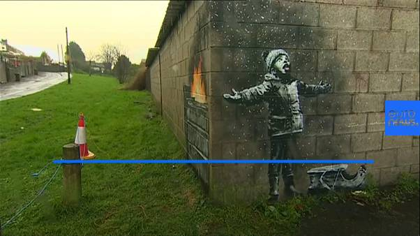 New Banksy piece targets industrial pollution in Port Talbot