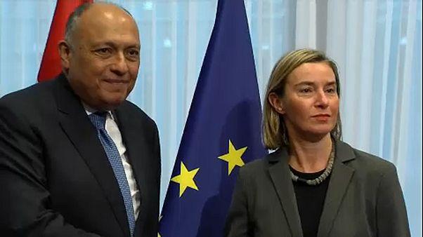 UE reforça diálogo diplomático com Egito
