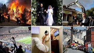 Euronews' favourite pictures of the year: How many of them can you identify?
