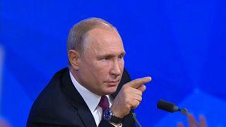 """Crise ukrainienne : une """"provocation"""" selon Poutine"""