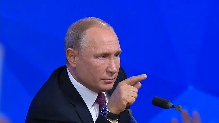 'Euronews isn't chirping on this': Putin hits out over Russian sailors