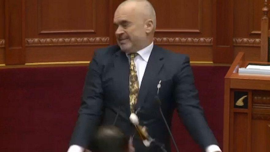Albanien: Eierwürfe gegen Ministerpräsident Rama