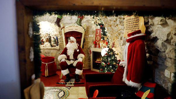 Kudüs'te Noel kutlamaları başladı