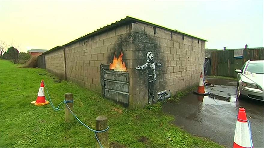 Banksy confirma autoria de mural misterioso