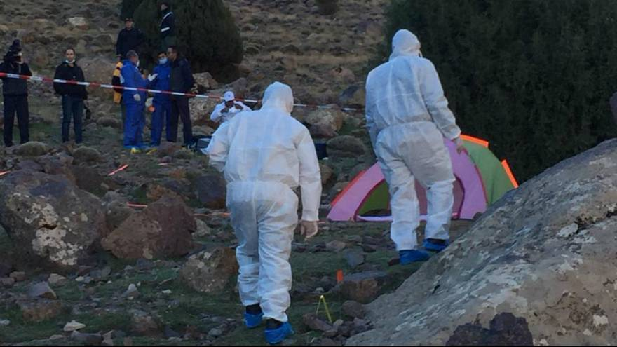 دستگیری سه مظنون به اتهام قتل دو کوهنورد زن اروپایی در مراکش