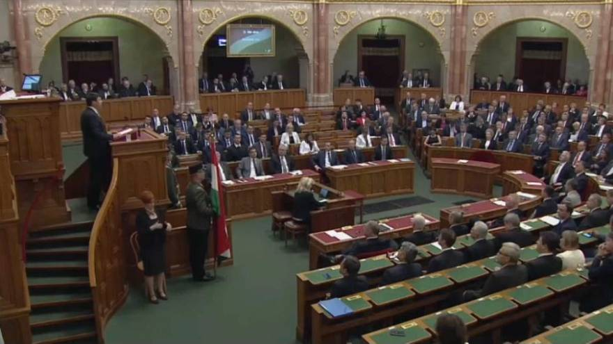 Une journée sous tension en Hongrie