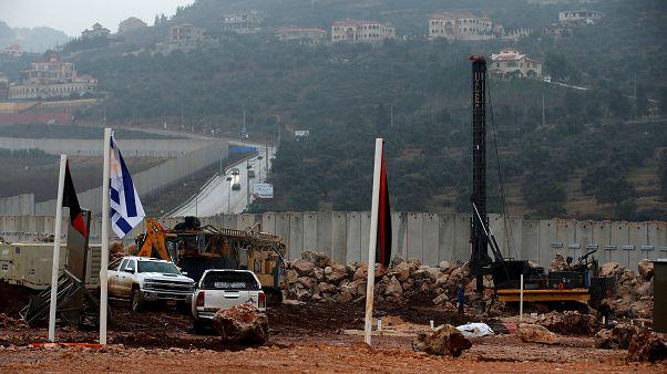 İsrail ordusu İsrail-Lübnan sınır hattı üzerindeki tünelleri imha etmeye başladı