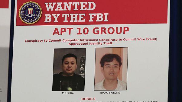 اعلام جرم آمریکا علیه دو هَکر چینی به اتهام جاسوسی تجاری