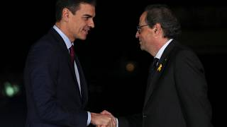Der spanische Ministerpräsident hat den Regionalpräsidenten Kataloniens getroffen