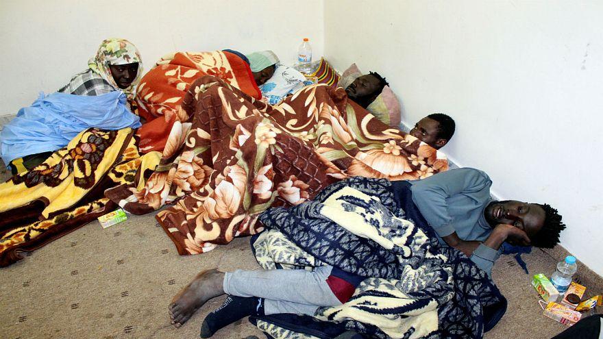مهاجرون في مصراتة بليبيا 04  ديسمبر كانون الأول 2018