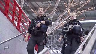 Despliegue policial en los aeropuertos alemanes por una amenaza terrorista
