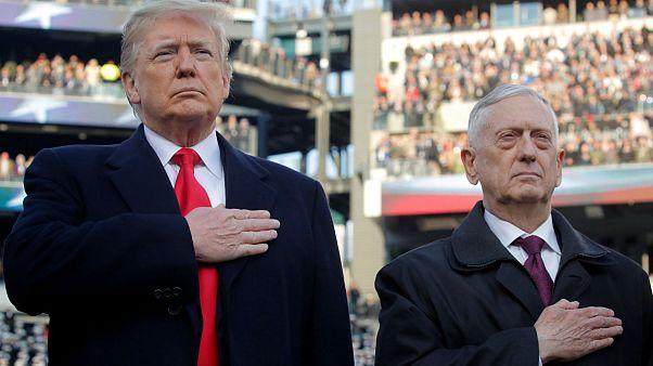 وزیر دفاع ایالات متحده آمریکا استعفا کرد