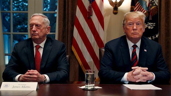 استقالة .. جيم ماتيس وزير دفاع أمريكا آخر المغادرين لسفينة ترامب في واشنطن